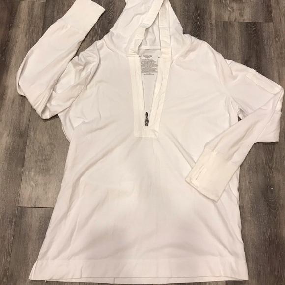 Danskin Now Jackets & Blazers - WOMENS SIZE XL WHITE PULLOVER